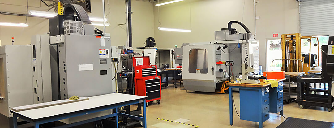 CNC Mill Area